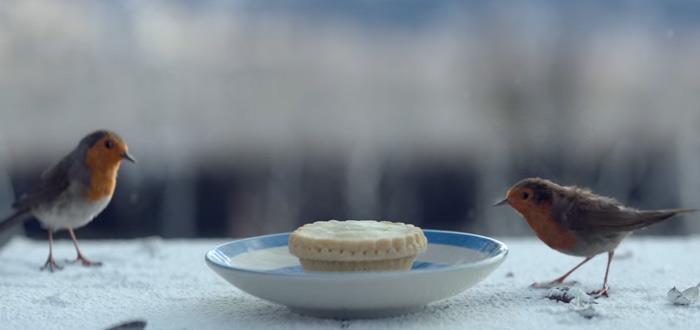 Johann Johansson for Waitrose Christmas ad