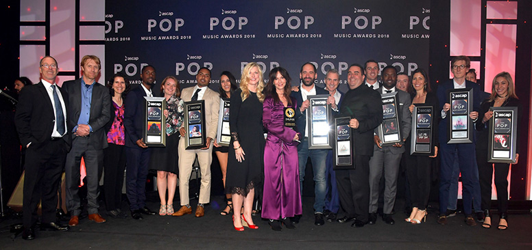 umpg was named publisher of the year at the 35th annual ascap pop