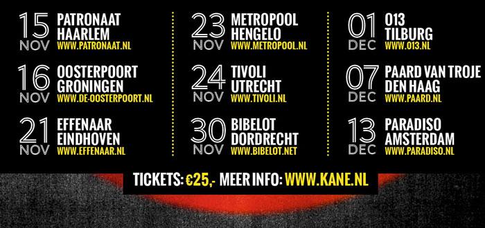 Kane Clubtour