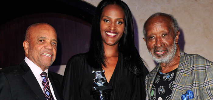 Motown Legend Salute Ethiopia Habtemariam at HAL Awards