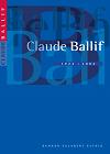 Brochure Claude Ballif