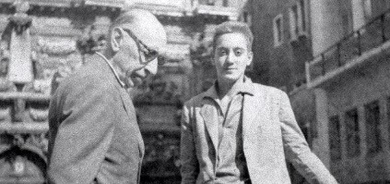 Marcello Panni con Igor Stravinskij