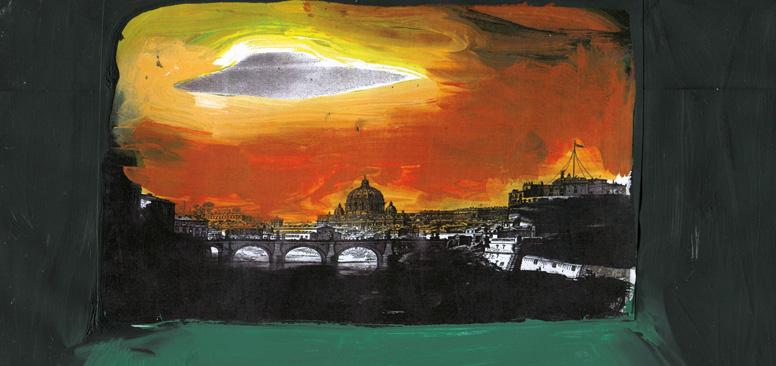 Vittorio Montalti Un romano a Marte sketch