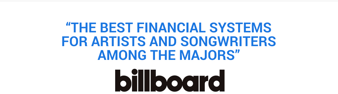 The best financial systems for artists and songwriters among the majors