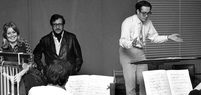 Marcello Panni con Luciano Berio